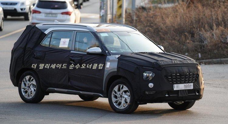 На тестах заметили удлиненную версию Hyundai Creta
