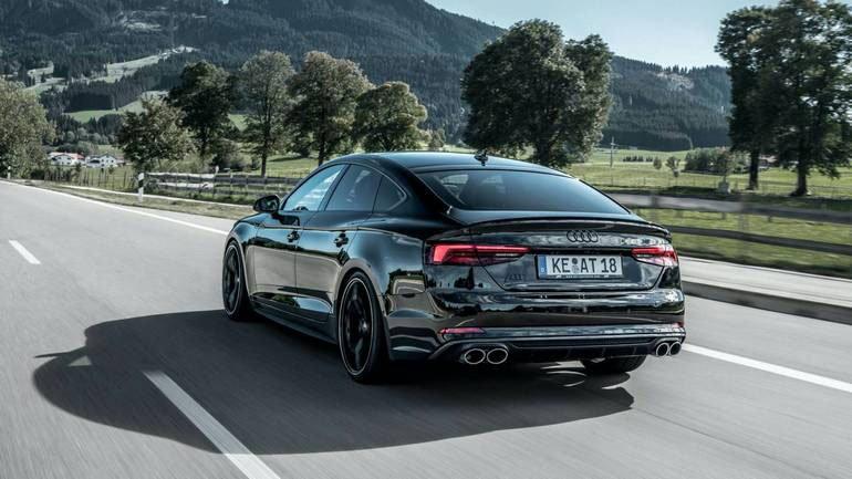 Показана заряженная версия Audi S5 Sportback