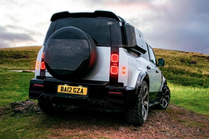 Land Rover Defender от Barugzai получил грозный внешний вид