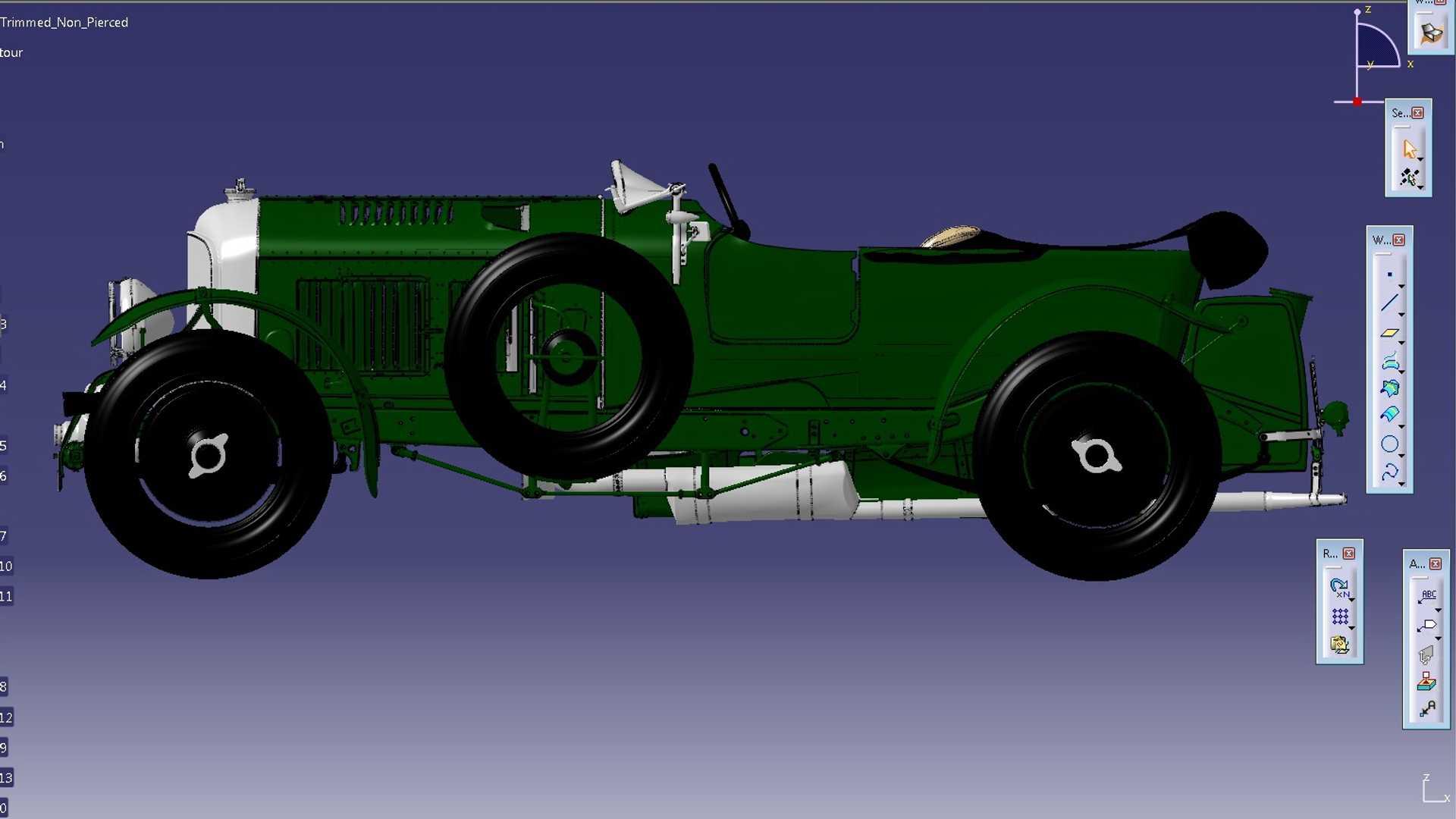 Bentley соберет 12 точных копий своего гоночного автомобиля прошлого века