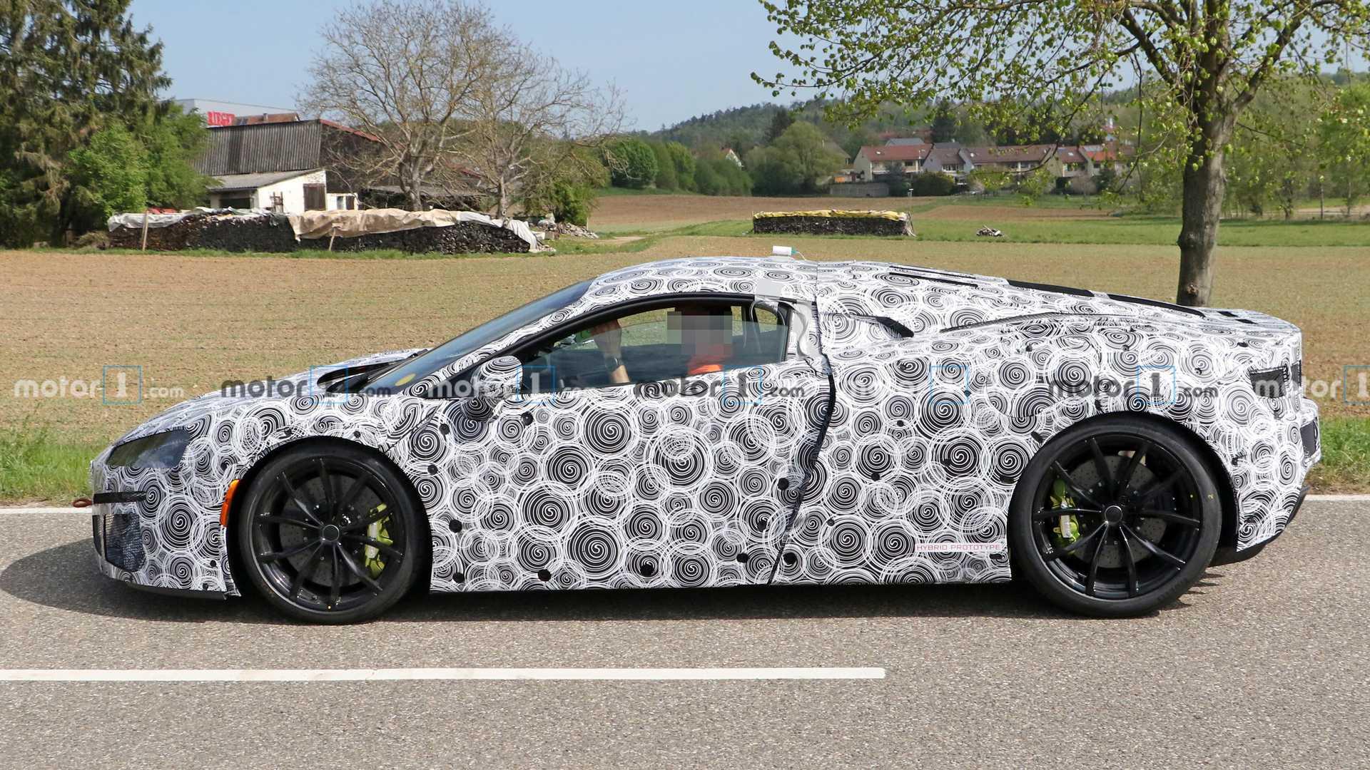 На тестах замечен приемник суперкара McLaren 570S