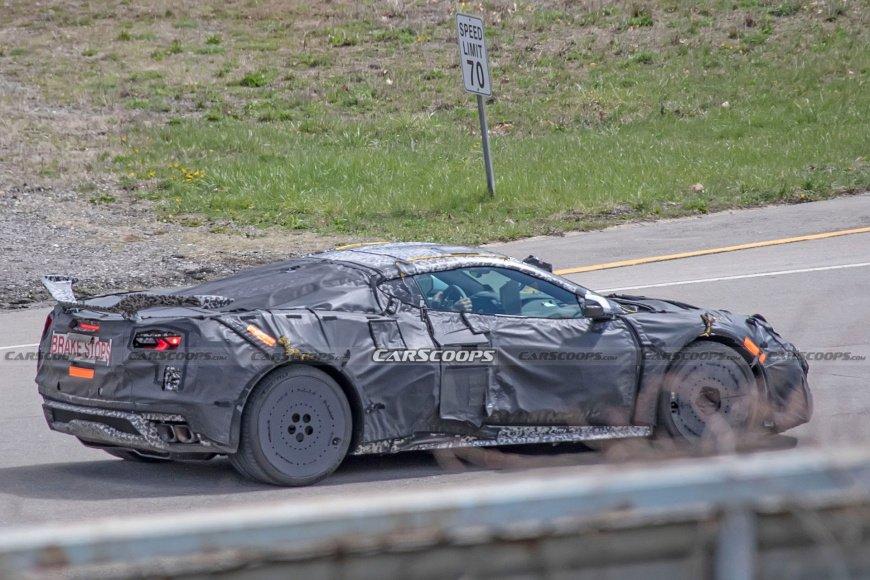 Концерн Chevrolet предложил послушать рев суперкара C8 Corvette Z06 2023 перед его премьерой осенью