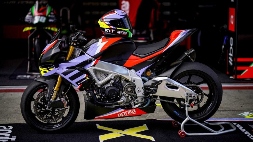 Компания Aprilia представила лимитированный мотоцикл Tuono V4 X
