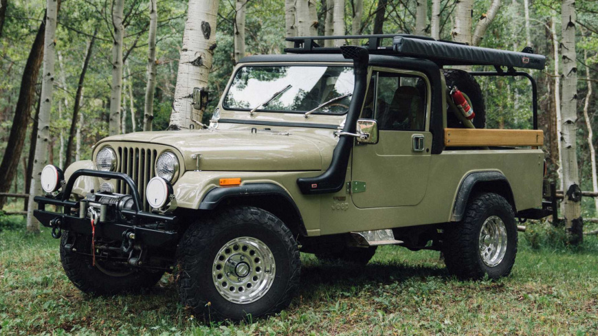 В Сети представлен рестомод на базе классического Jeep CJ-8 Scrambler