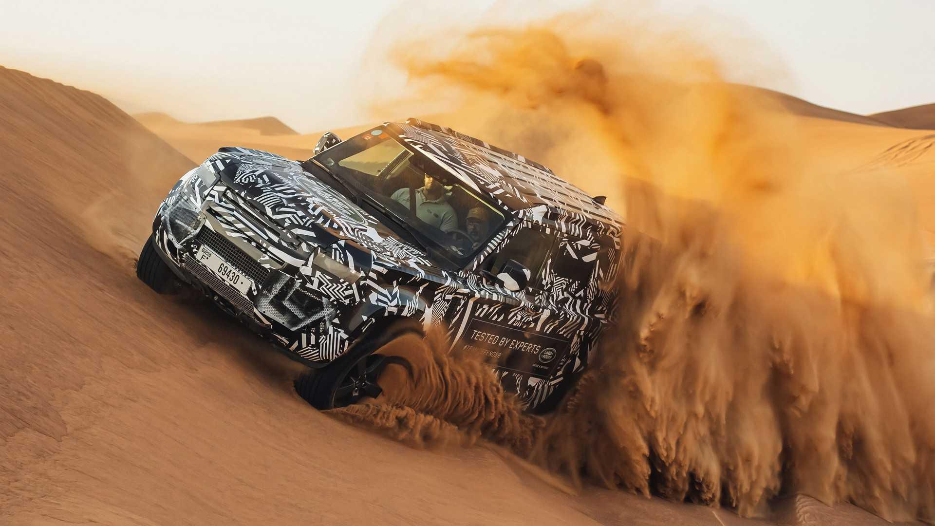 Грузовик на базе Land Rover Defender 2020 возможен, но…