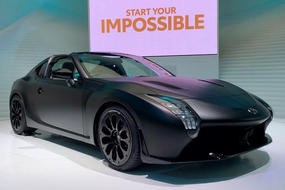 Тойота показала силуэт нового спорткараGR Super Sport Concept натизере