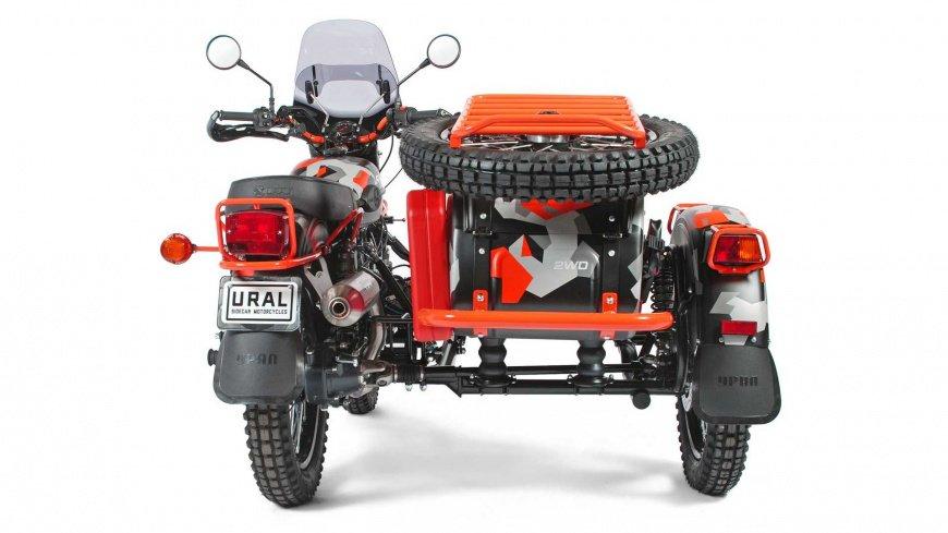 Мотоцикл «Урал» получил новую особую ограниченную версию