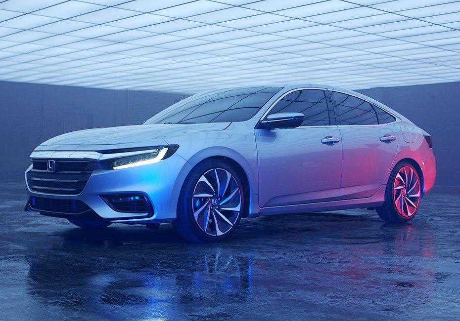 Хонда привезет вДетройт концептуальный автомобиль Insight