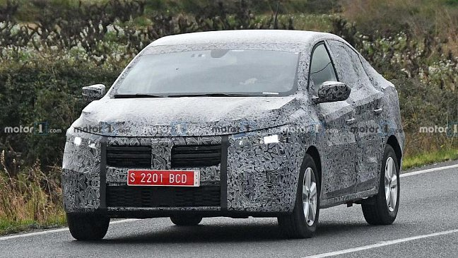 На тестах замечен обновленный хэтчбек Dacia Sandero Stepway
