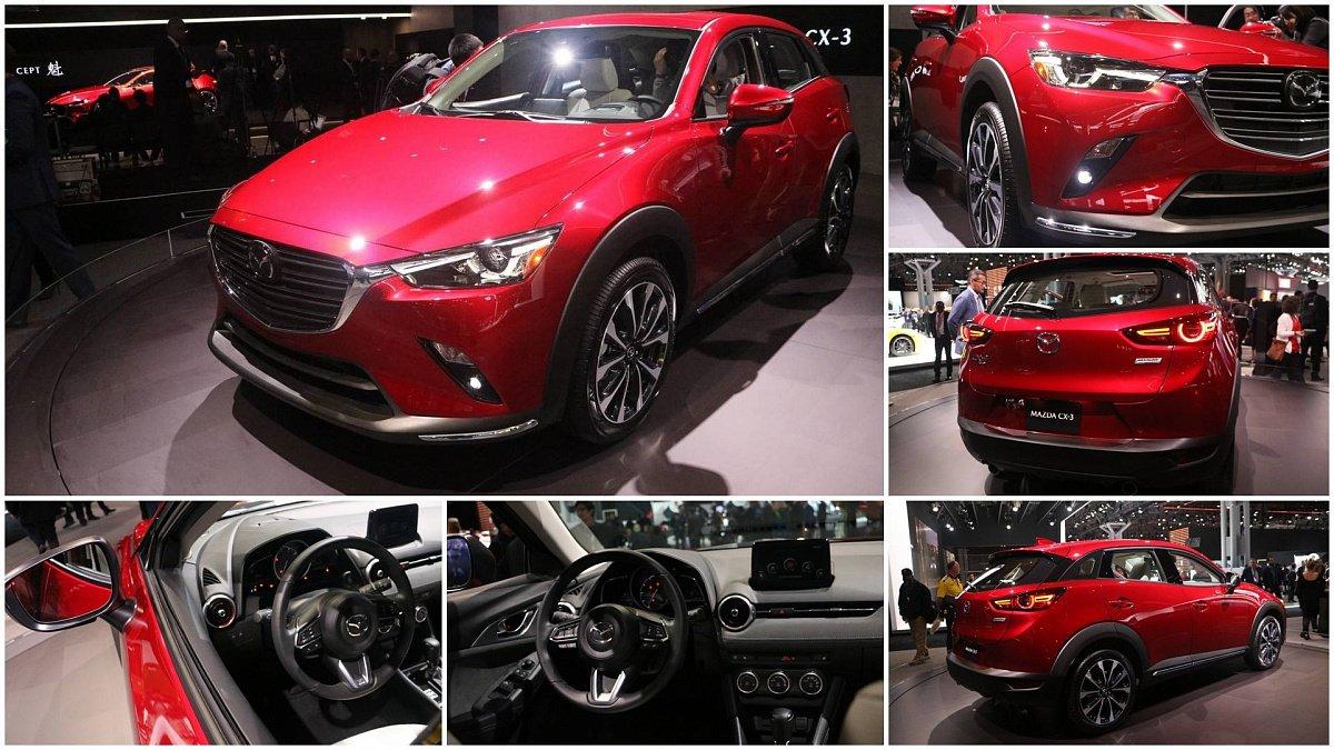 Новая генерация Mazda CX-3 в Сети появилась первая информация