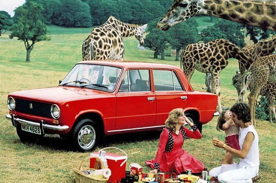 В Англии отыскали старую Lada, которая простояла в гараже 20 лет