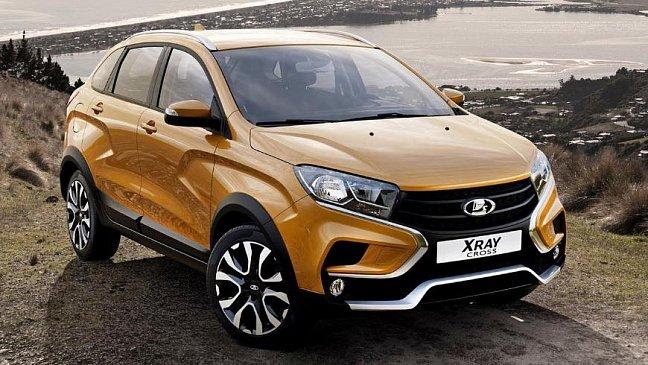 «АвтоВАЗ» приостановил производство LADA XRAY Cross