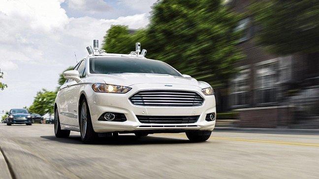 Ford продемонстрировал как беспилотники могут изменить городской трафик
