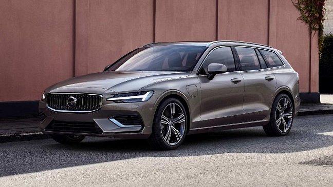 Опубликованы цены на обновлённый универсал Volvo V60