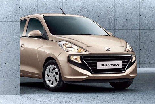 Компания Hyundai «рассекретила» обновленный хэтчбек Santro