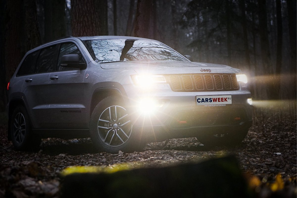 Тест-драйв Jeep Grand Cherokee Trailhawk