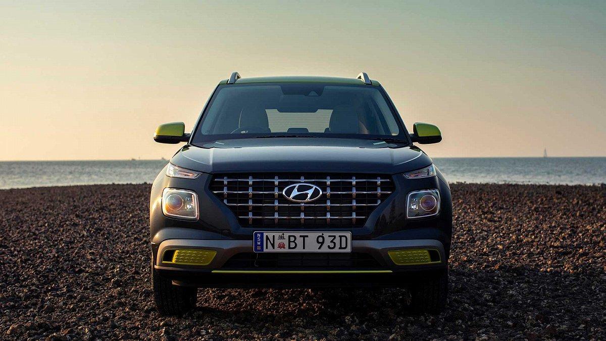 В США в продажу поступил кроссовер Hyundai Venue
