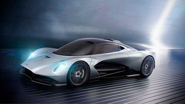 Aston Martin зарегистрировал новое торговое имя Valen