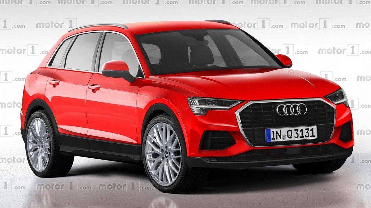 Audi Q3 2019 модельного года: чего ожидать от рестайлинга