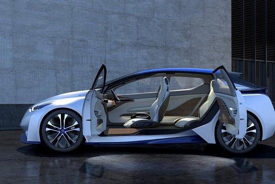 Nissan представит концепцию электрокара