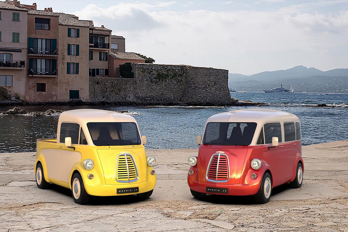 Ретро-электрический фургон Morris JE дебютировал на публике