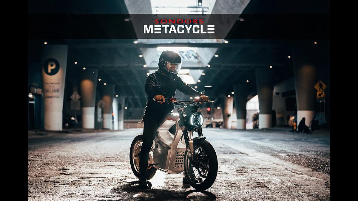 Sondors проводит испытания своего нового Metacycle