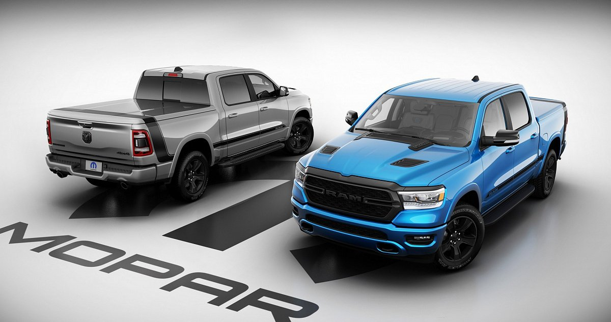 Ram 1500 2021 получил новую версию Mopar Special Edition со множеством аксессуаров