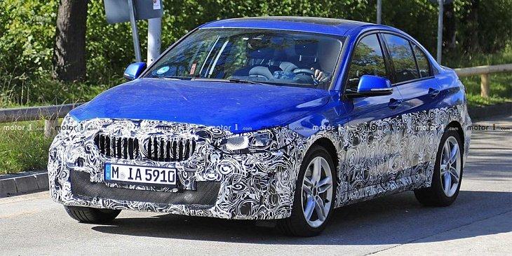 Замечен прототип седана BMW 1-Series