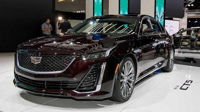 Седан Cadillac CT5-V Blackwing получит 650-сильный мотор V8