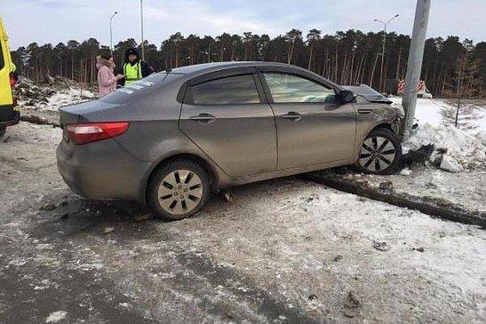Водитель едва остался жив после аварии в Ростове-на-Дону