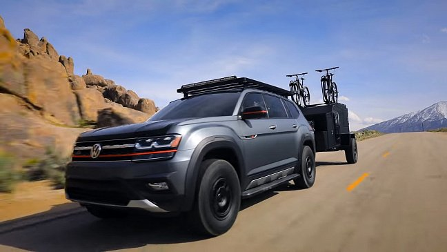 Volkswagen Atlas получил специальную версию Basecamp для экстремалов