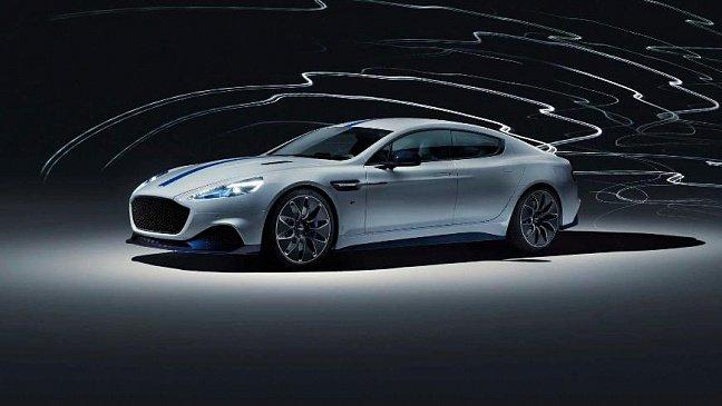 Aston Martin представил свой первый электромобиль – Rapide E