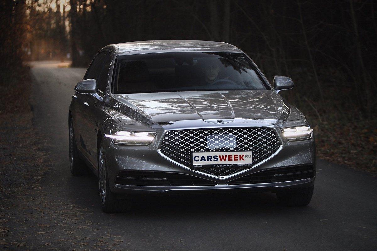 Больше роскоши: тест Genesis G90 L смотреть видео, видеобзор, комплектации, характеристики авто, фото, цены в России на сайте Carsweek