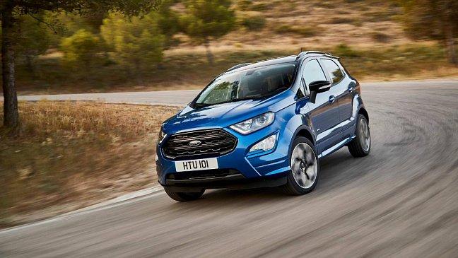 Опубликованы цены на кроссовер Ford EcoSport 2021 модельного года