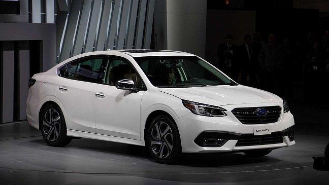 В России стартовали продажи обновленного Subaru Legacy