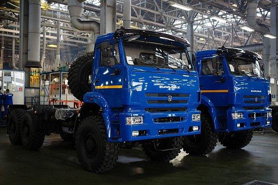 «КАМАЗ» запатентовал электрическое грузовое авто без кабины