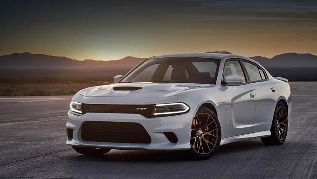 Журналистам попался прототип нового Dodge Charger SRT Hellcat