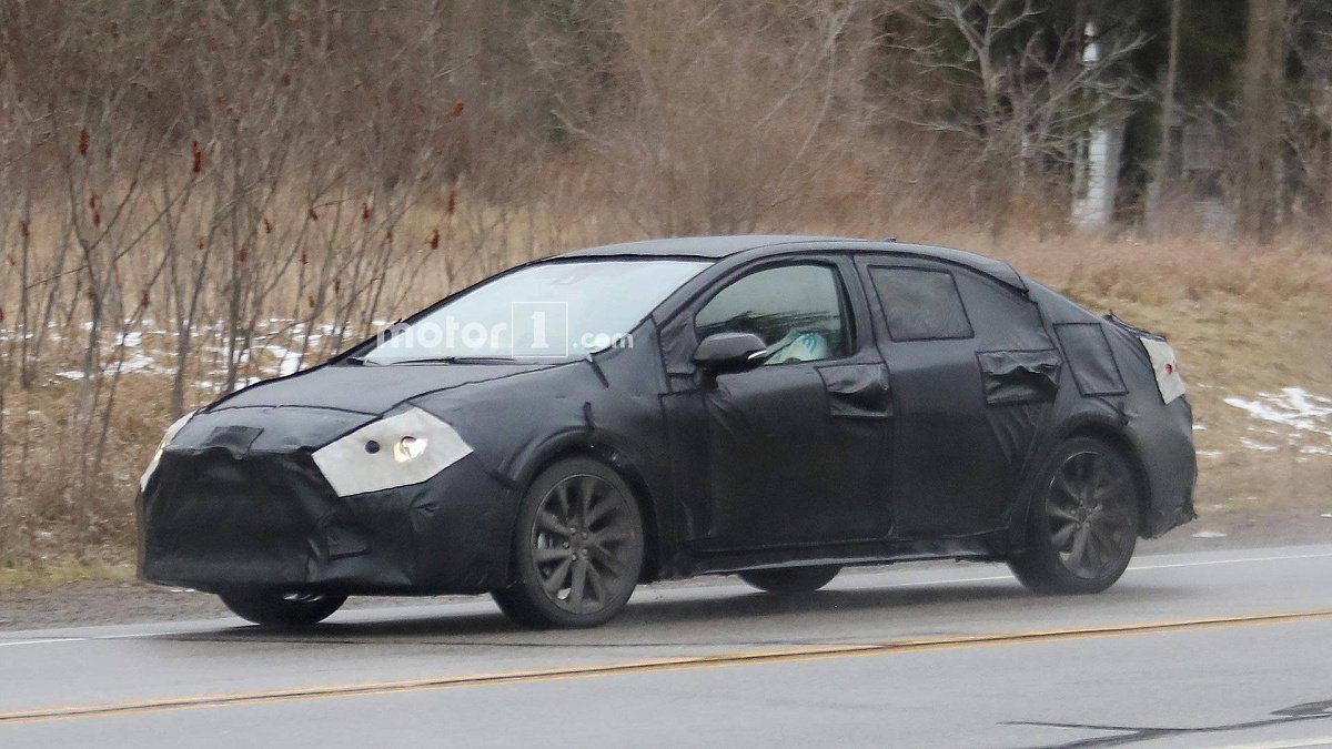 Замечена новая Toyota Corolla 2020