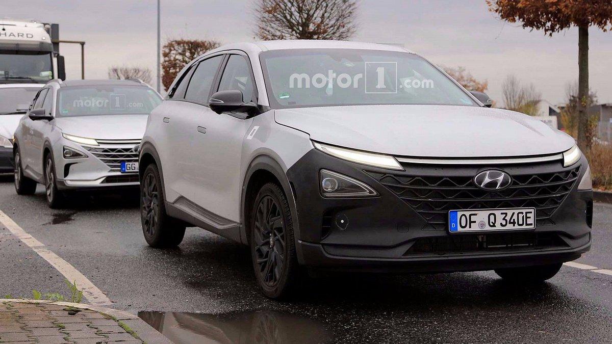 Водородный кроссовер Hyundai FCEV Fuel Cell проходит испытания