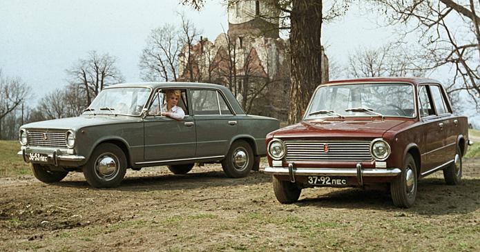Где и какие автомобили LADA ездят по дорогам России
