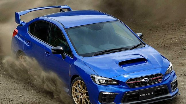В Токио представлен мощный седан Subaru WRX STI EJ20 Final Edition