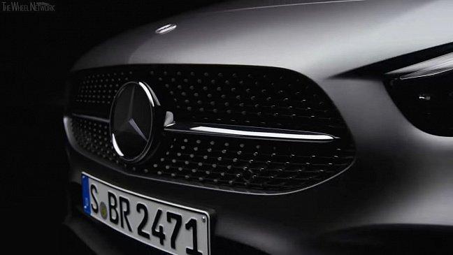 Новое поколение Mercedes-Benz B-Class (W247) рассекретили до дебюта