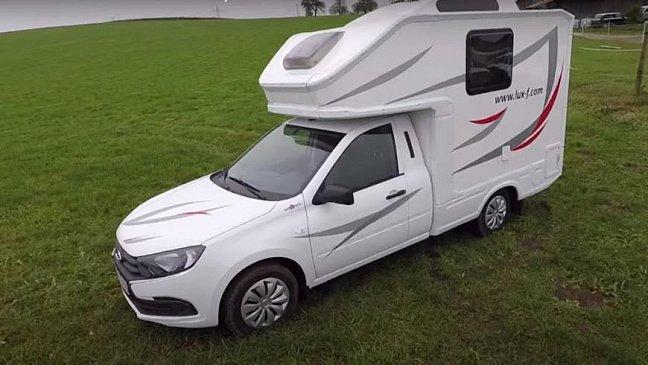 Кемпер на базе УАЗ «Карго» продемонстрировали в интернете