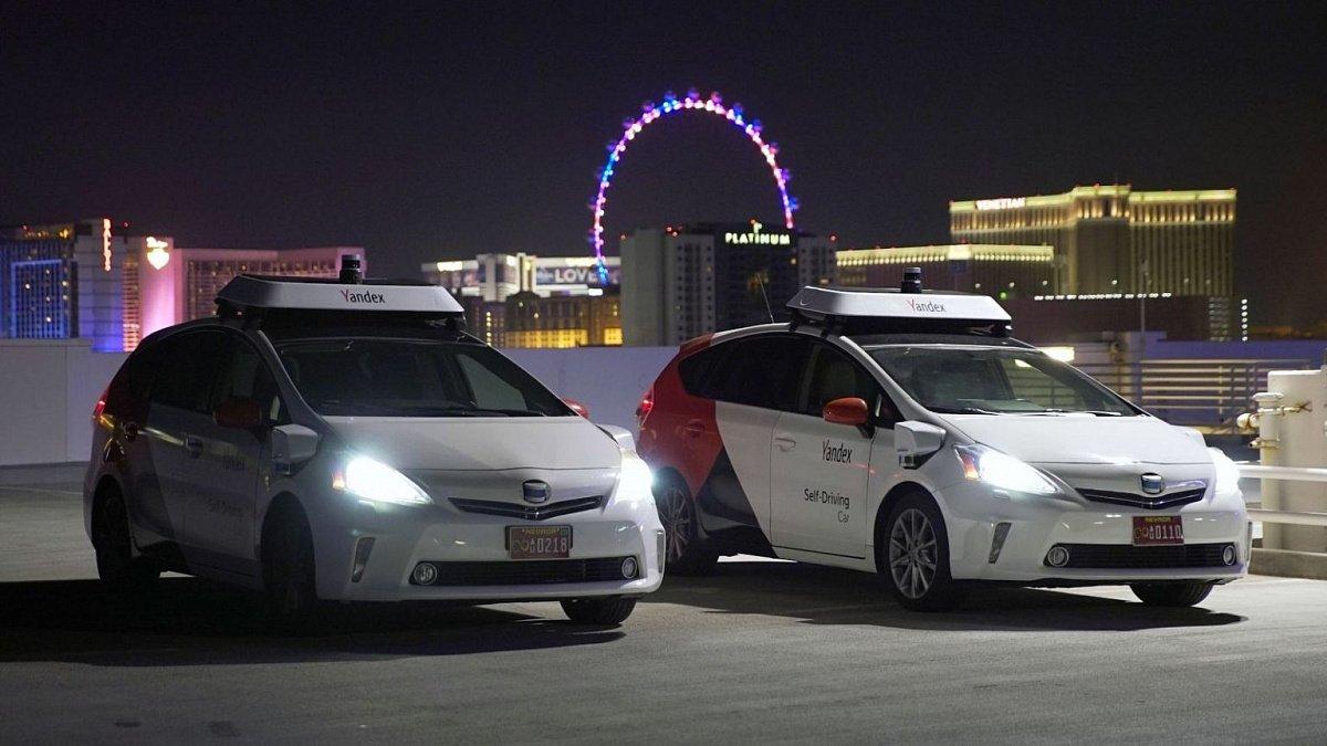 Российские беспилотники испытали на дорогах Лас-Вегаса
