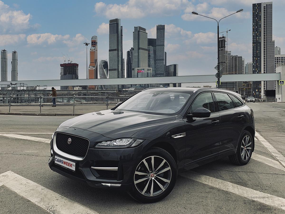 Острота ощущений: тест Jaguar F-Pace R-Sport читать, обзор, тест, комплектации, характеристики авто, фото, цены в России на сайте Carsweek
