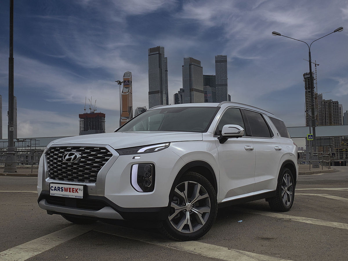 Дефицит: тест Hyundai Palisade