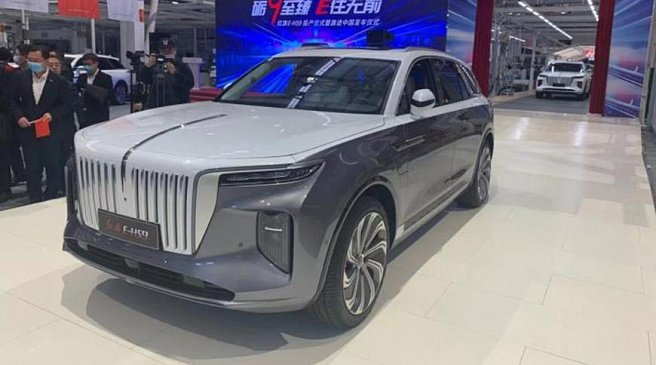 Объявили дату начала продаж аналога Aurus Komendant из Китая