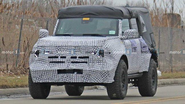 С какими моторами будет продаваться внедорожник Ford Bronco 2021 года?