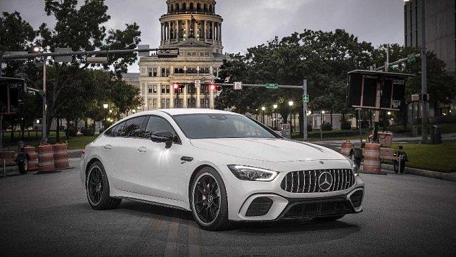 Опубликованы снимки нового Mercedes-AMG CLA 45