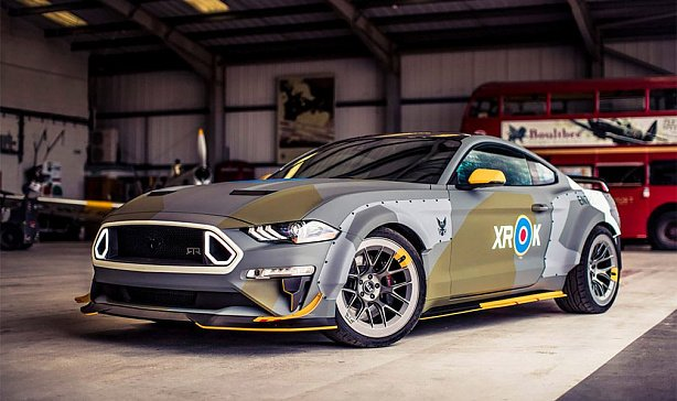 Ford показал новый Mustang в образе американского истребителя Второй мировой войны